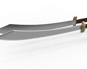 3D print model Zuko dual swords from Avatar TV series