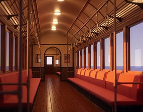 The Train in Spirited Away 3D model