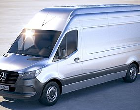 Mercedes-Benz Sprinter Long 2019 3D model
