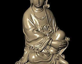 3D print model The Bodhisattva solid