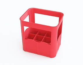 Plastic crate 15 3D