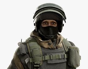 Army Man 3D asset