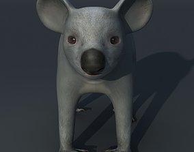 koala 3D model rigged