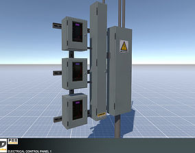 3D model Electrical Control Panel 1