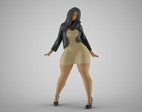 3D printable model Woman in the Mirror 5