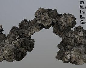 Rocks stone 3D asset game-ready