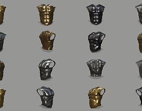 3D model armor blade