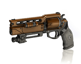 Fatebringer Legendary Hand Cannon 3D printable model