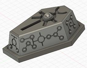 Necron badge 3D print model