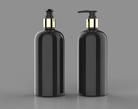 Shampoo bottle 3D asset