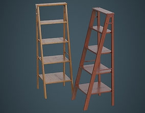 Step Ladder 1A 3D model