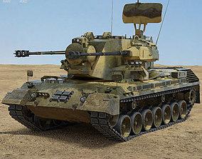 3D Flakpanzer Gepard 1A2