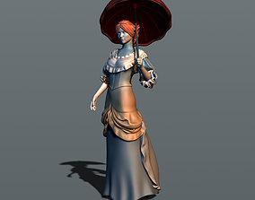 3D printable model Girl in Victorian dress