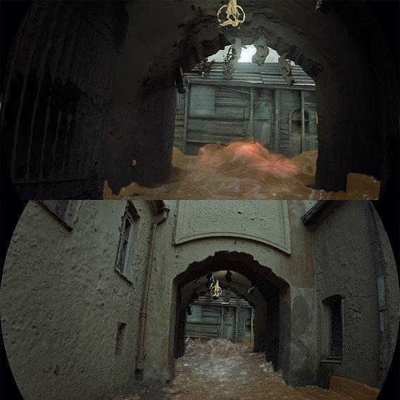 3D scan of doors, gates and portals