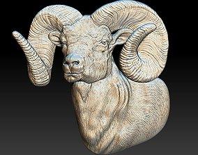 3D printable model Ram - relief - 2019