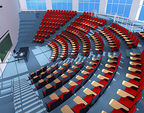 3D Lecture hall modern
