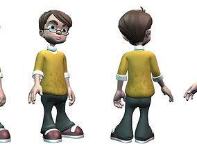 3D model Robert