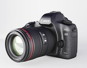 Canon EOS 5D Mark II 3D