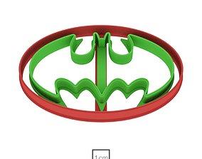 3D print model Batman cookie cutter for professional