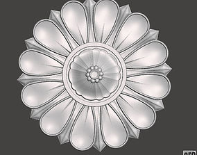 3D printable model Flower bas-relief for cnc FLCFC0B