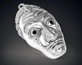 Casa de papel Dali mask Berlin Tokyo Rio 3D print model 1