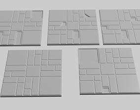 Dwarven Fort Floor Tile For 3D Printing