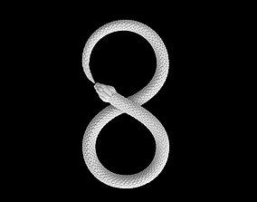 3D printable model snake