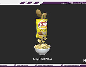 delicious Lays Chips 3D model