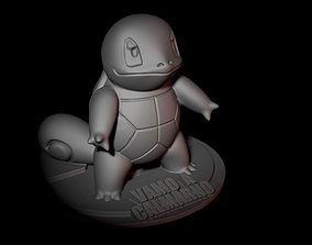 Squirtle Vamo a calmarno 3D print model