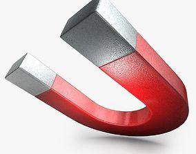 3D model Realistic Magnet