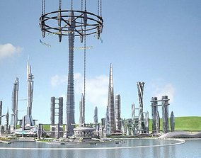 Future City on Earth V1 3D