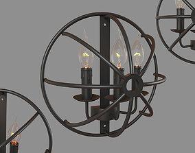 3D model Foucaults orb LOFT1192W
