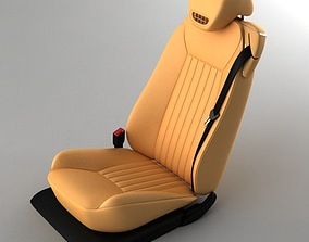 3D Mercedes SL 09 car seat