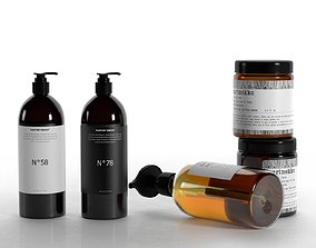 Body Care Products 3D