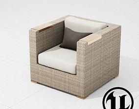 3D model Patio Furniture Chair 004