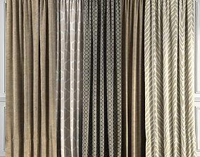 Curtain Set 45 3D model