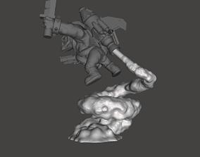 3D printable model 3x Stormboyz Rokkit Pack Smoke Stand 2