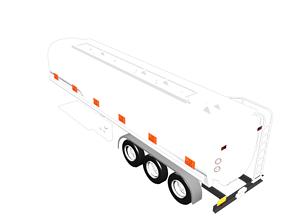 3D model VR / AR ready Oil Tanker