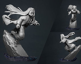 kimetsu no yaiba - demon slayer - nezuko 3d print statue