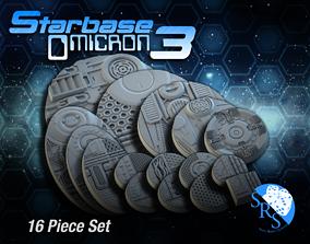 Sci-Fi Base Set toys 3D printable model
