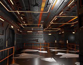 3D model Sci-Fi Interior 602