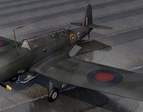 3D model Vought Chesapeake - RAF