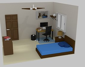 3D asset Room Interior