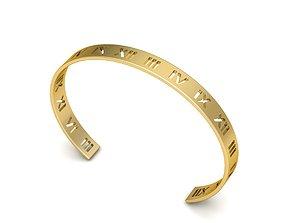 Tiffany Atlas bracelet 3D print model