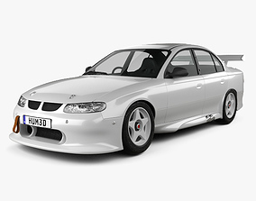 3D model Holden Commodore Race Car sedan 1997