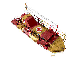 3D model Air Sea Rescue Craft ASR 10 World War II
