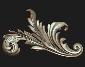 Carved decor 08 3D model