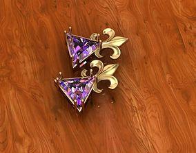 crown pendant 3D print model