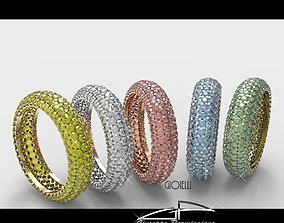 3D model anello pave