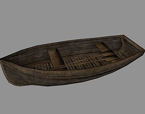 3D asset realtime Row Boat
